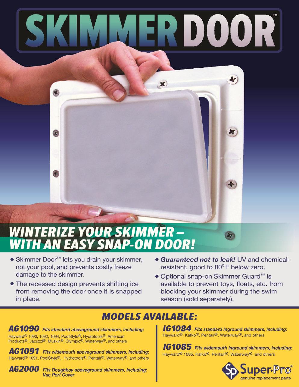 Skimmer Door Amp Nla Master Spa X804639 Screw F H2x